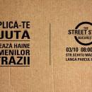 THE STREET STORE, primul magazin gratuit de îmbrăcăminte pentru persoanele fără adăpost