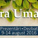 Tabăra Umanistă, o oportunitate pentru tinerii din România